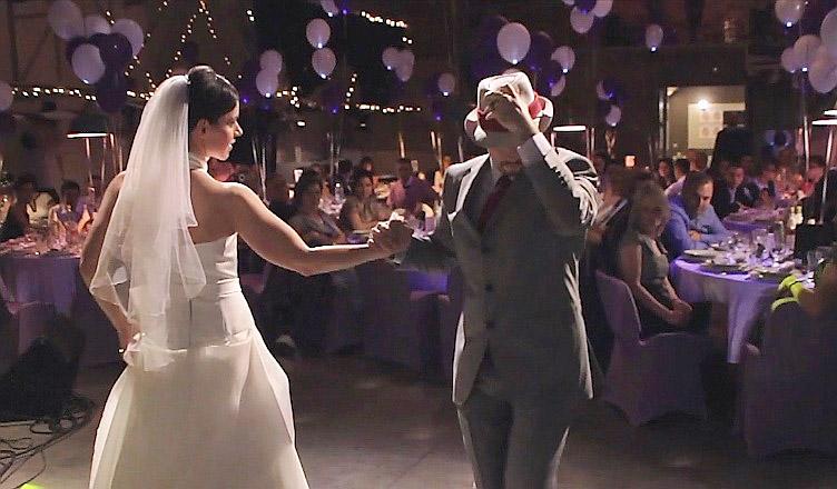 Csilla és Peti esküvő videó, kisfilm, Budapest, esküvői táncok