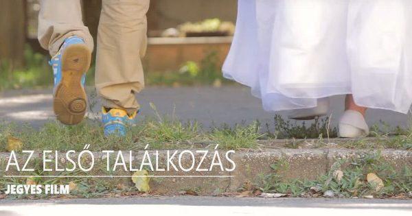 Esküvői videó | jegyes film | Az első találkozás