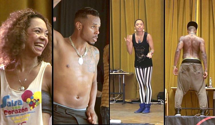 Diana Rodriguez és Yoandy Villaurrutia 2014 salsa tánc videó, Balaton