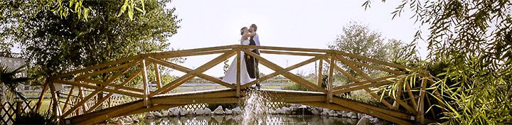 Esküvői videó, Szeged, Kastély kert