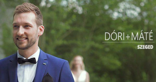 Esküvői videó | Szeged, Kastélykert | ACS Media | 1st look